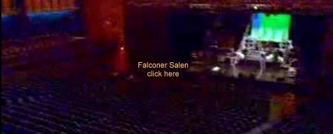 Falconer Salen kapacitet glæderne aarhus
